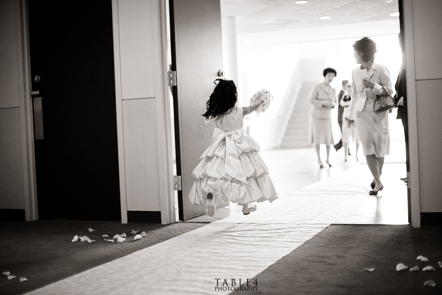 flower girl wedding image