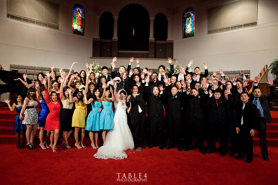 korean christian church houston wedding image