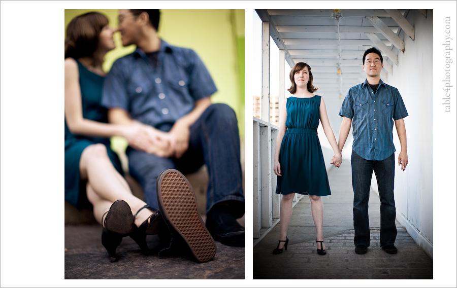 austin tx engagement photos, downtown, dancing