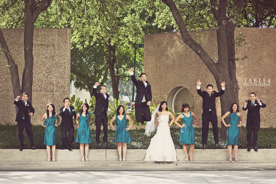 tranquility park houston tx wedding party image