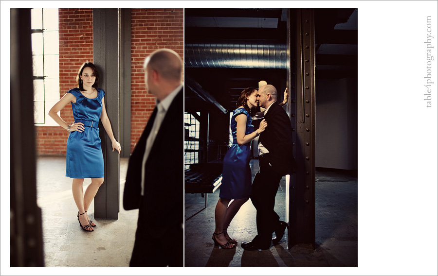 downtown dallas engagement image