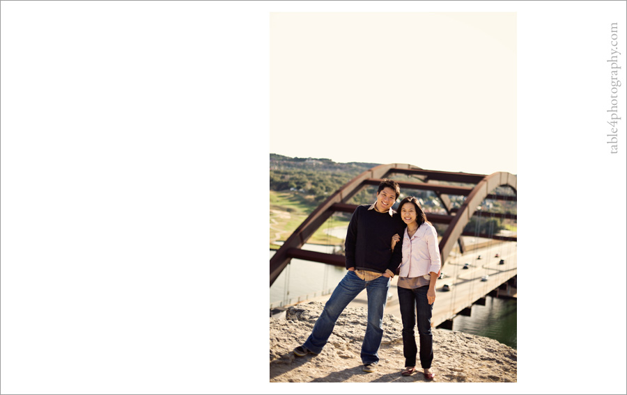 austin, tx 360 bridge engagement pictures