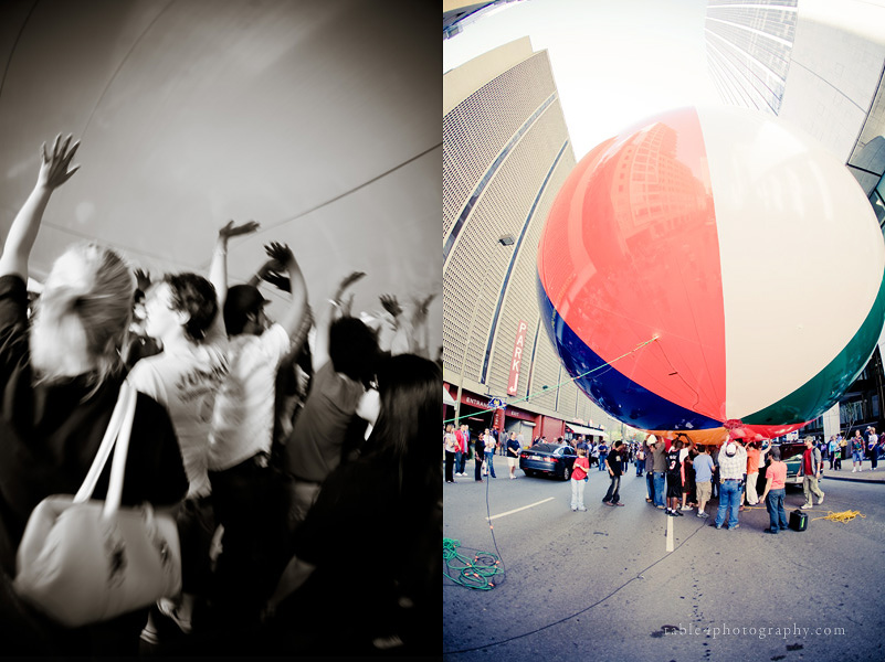 carnival cruise biggest beach ball picture