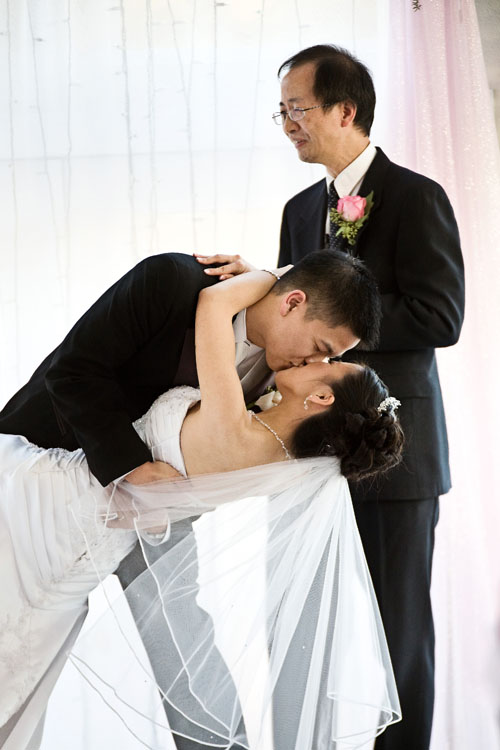 first kiss wedding image at anabelle mansion