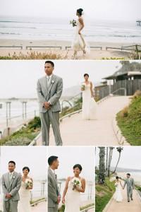 teryn and evan la jolla wedding photographer, california wedding photography, first look wedding