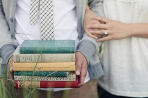 orange county park and books engagement