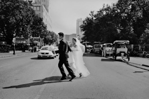 new orleans street wedding