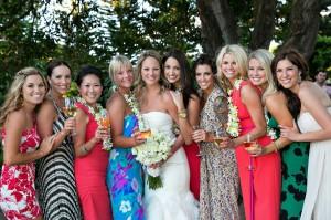 maui wedding girls