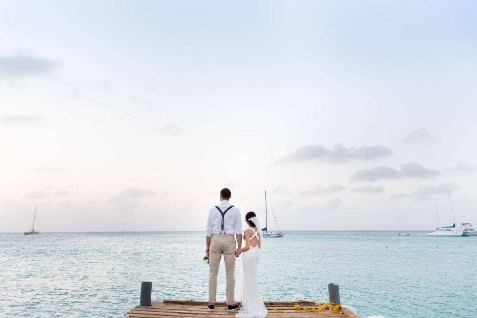 aruba destination wedding, thailan and joey wedding, destination wedding photographer, aruba wedding photos by Jason Huang, Table4.